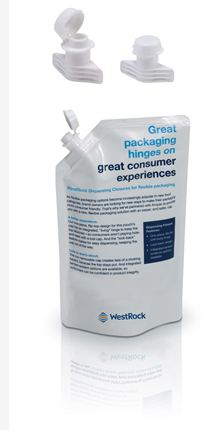 WestRock Introduces FlexFit, a Spouted Dispensing Closure for Flexible Pouches
